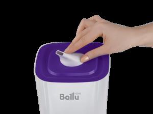 Фото Ультразвуковой увлажнитель воздуха Ballu UHB-205 белый/фиолетовый